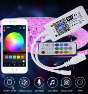 Colorful lamp with remote control