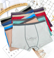 Sweat-absorbent U-convex boxer briefs