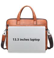 Men's retro briefcase