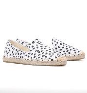 Canvas espadrilles flat shoes