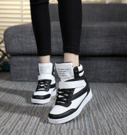 Increased women's high-top shoes