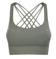 Shockproof gathered bra Sports underwear