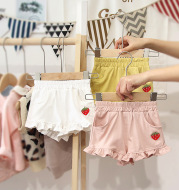 Lace baby shorts