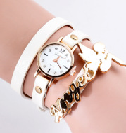 Quartz Watch DIY Angel Pendant Women's Watch