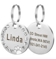 Customizable dog tags