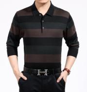 thin stripe long sleeve T-shirt