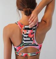 Sport Bra With Back Pocket