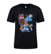 Men's short-sleeved cotton T-shirt