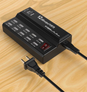 12 port charger