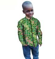 Printed boy top