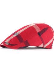 Plaid sunscreen cap