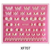 Nail decals 3d nail stickers