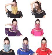Indian dance performance veil