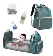 Portable Folding Crib Mommy Bag