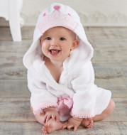 Children's bath towel bathrobe and slippers suit