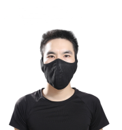 Bicycle face protection ski mask
