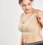 Sports Bra No Steel Ring Chest Wrap No Trace Female Underwear Beauty Yoga Back Shockproof