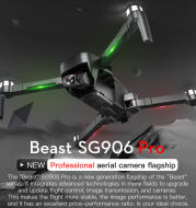 SG906PRO folding dual GPS drone 4K HD image transmission two-axis mechanical self-stabilizing gimbal professional aerial photography