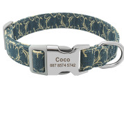 Dog tag custom dog collar lettering identity card