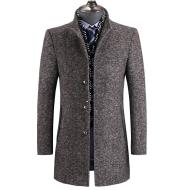 2021 Winter wool thickened windbreaker man