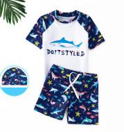 Split swimsuit for children