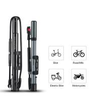 High-pressure bicycle pump
