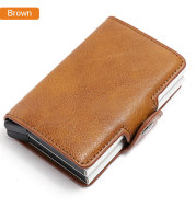 Aluminum PU wallet