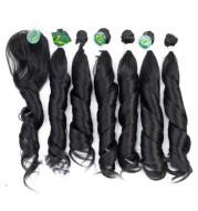 Chemical fiber hair curtain