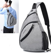 Men's Crossbody Bag Outdoor Sports Backpack