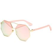Polygonal eyebrow sunglasses