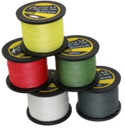 Strong pull fishing line