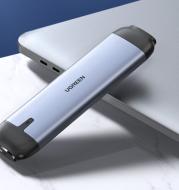 Mobile hard disk reader