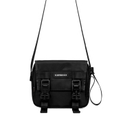 Crossbody magnetic buckle bag
