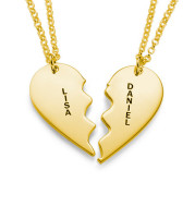 Sterling silver loving couple lettering jewelry