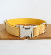 Adjustable dog collar with customizable name