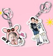 Keychain photo customization