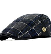 Men's woolen cap beret hat