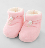 Thick warm baby shoes