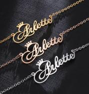 English Name Necklace