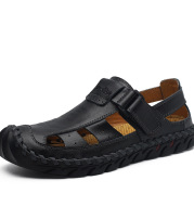 Leather soft sole non-slip beach shoes