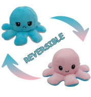 Fashion Cute Double-sided Octopus Plush Toy
