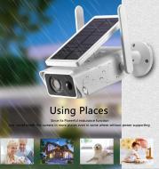 Solar Camera 1080P Waterproof Rainproof