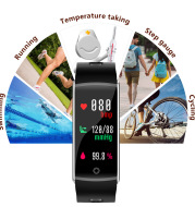 F10T body temperature smart bracelet