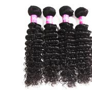 Real hair weave hair