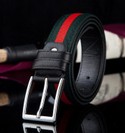 Casual pin buckle belt