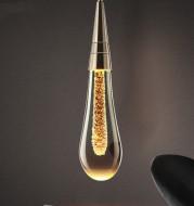 Postmodern crystal chandelier