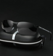 Polarized sunglasses for driving and riding