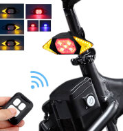 USB rechargeable bicycle turn signal