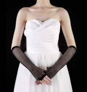 Accessories mesh i mesh long gloves all-match