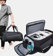 Wet and Dry Separate Travel Bag Multi-functional Sports Backpack